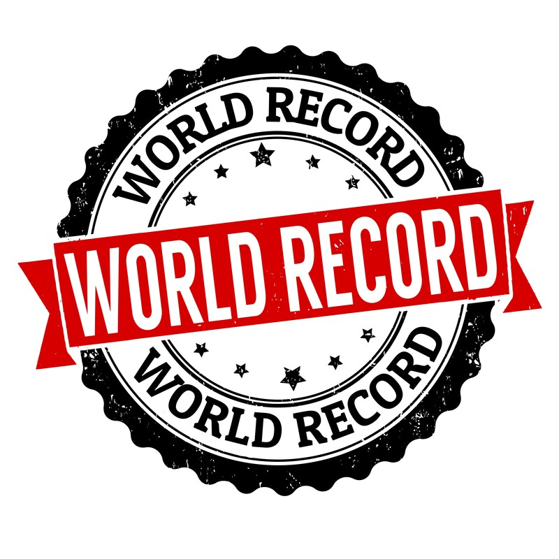Official World Record Holder